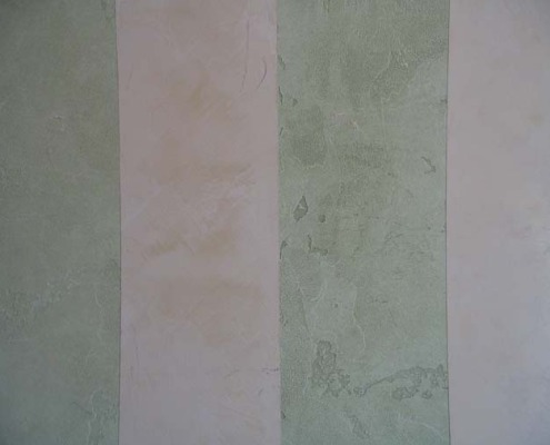 venetian plaster italian plasters Venetian Plaster Stripes Blue green gray grey taupe Puyallup