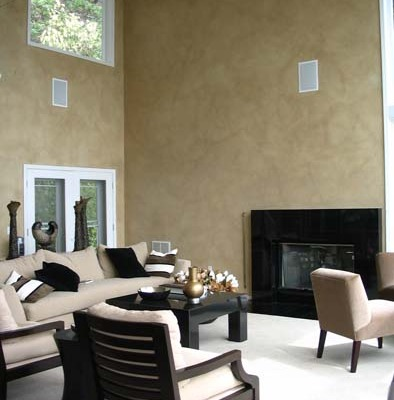 Architectural Faux Finish Great Room home design houzz