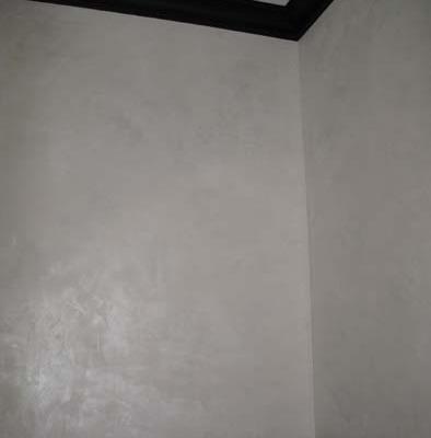 venetian plaster italian plasters White Contemporary Metallic Plaster Mercer Island Decorative White walls shimmer