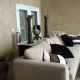 Architectural Faux Finish Living Room Seattle interior design ideas sofa contemporary look candle holders houzz