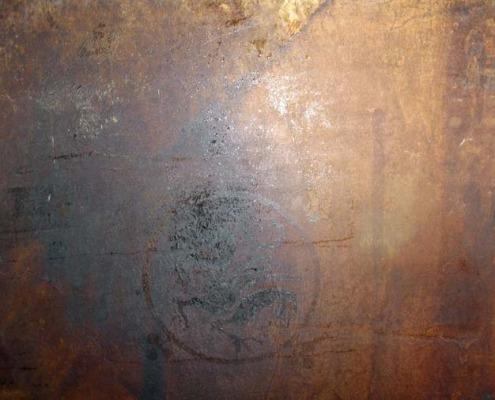 venetian plaster italian plasters Blackened Brown Concrete Decorative stained concrete Olympia