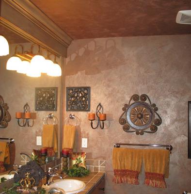 venetian plaster italian plasters Metallic Plaster Bathroom Redmond decorating ideas faux walls Bellevue