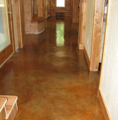 venetian plaster italian plasters Copper Stained Concrete Floors Bellevue Decorative Concrete Tacoma orange red bronze Tacoma