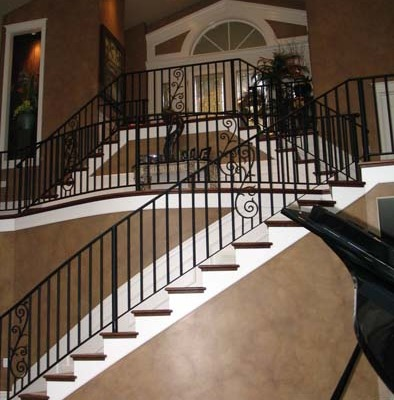Architectural faux Finish Entry Kirkland Interior design ideas seattle house painters houzz