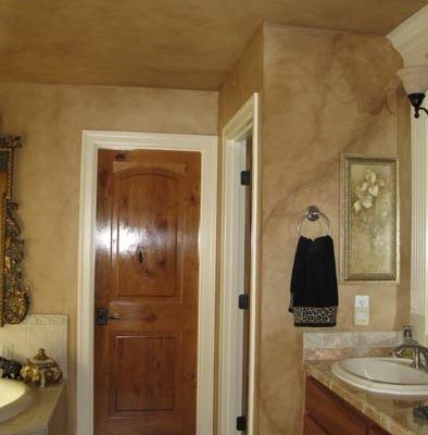 Faux Finish Master Bathroom Kirkland decorators crackle finish gorgeous bathrooms medina