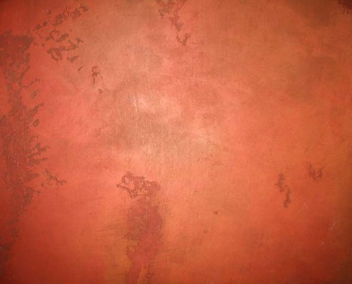 venetian plaster italian plasters Cinnamon Distressed Venetian Plaster red rust Bellevue