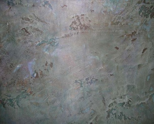 venetian plaster italian plasters Aged Blue Plaster Venetian gray grey bronze slate Olympia