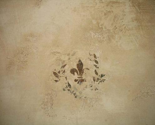venetian plaster italian plasters Aged Distressed Venetian Plaster taupe cream brown Bellevue