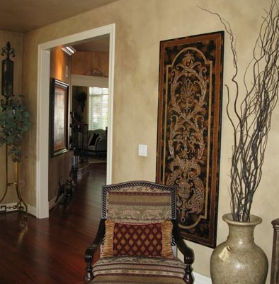 ... Architectural Faux Finish Living Room Kirkland redmond Interior design ideas wall art old world chair houzz ...