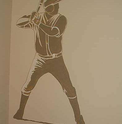 children's rooms Baseball Mural Boys Room Seattle kids ideas sports designs Redmond