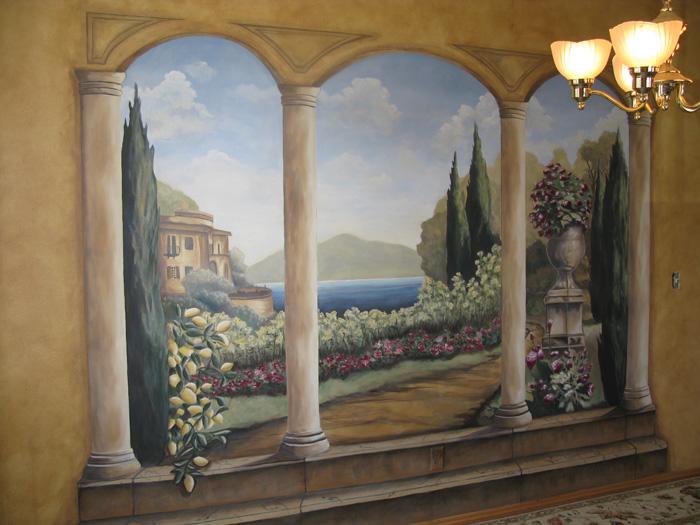 Murals for Cypress gardens mural