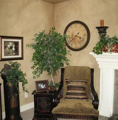 Architectural Faux Finish Family Room Kirkland interior designers Seattle bellevue houzz
