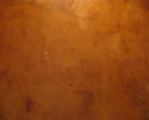 venetian plaster italian plasters Amber Distressed Venetian Plaster Kirkland orange rust