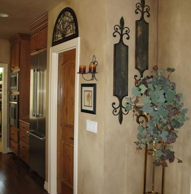 Architectural Faux Finish Hallway Kirkland wall decor tacoma