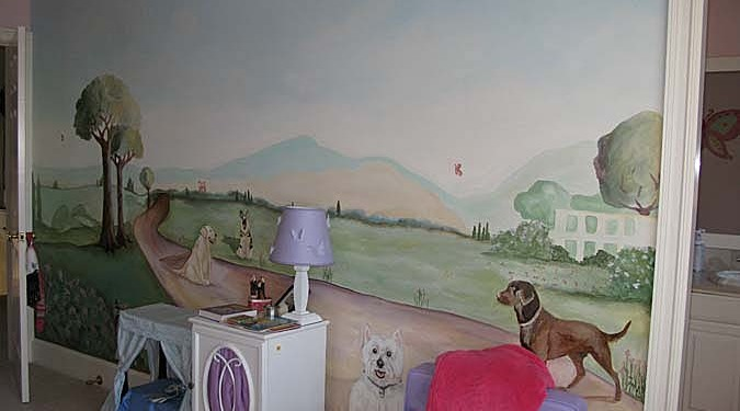 children's rooms Dog Park Girls Room Olympia dogs playground landscape kids designs Seattle
