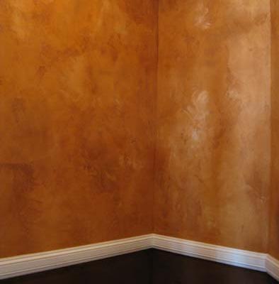 venetian plaster italian plasters Distressed Italian Plaster Powder Room Olympia wall ideas faux finish Tacoma