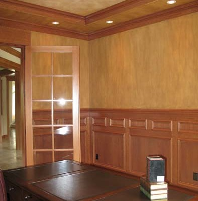 Architectural Faux Finish Office Seattle e tacoma house painters