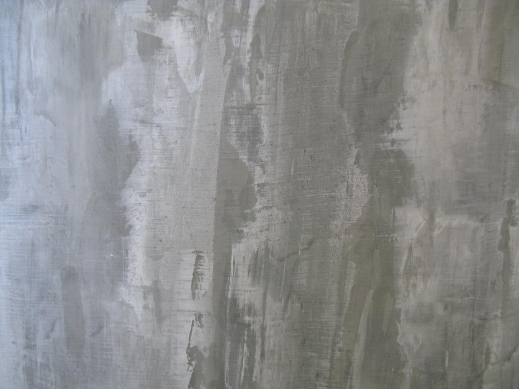 Modern concrete venetian plasters paradise studios for Concrete wall painting techniques
