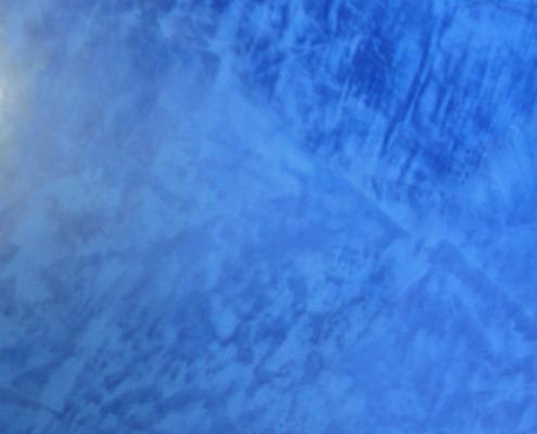 Seattle Cobalt Venetian Plaster Gigi Harbor