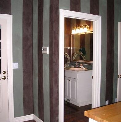 Decorative Paint Stripes Hallway Tacoma interior design ideas bellevue tacoma house painters