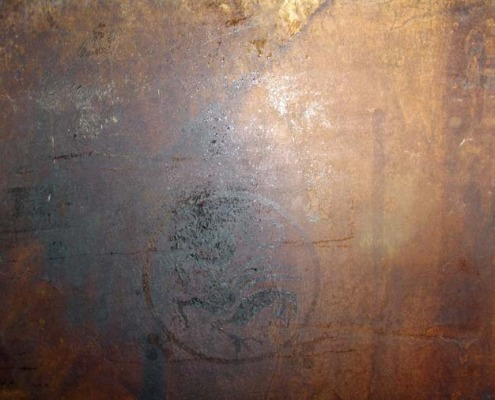venetian plaster italian plasters Blackened Brown Concrete Decorative stained concrete Olympia