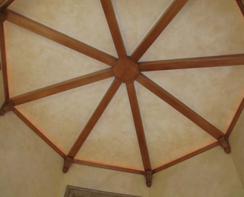 Architectural Faux Finish Ceiling Great Room Seattle interior design bellevue tacoma