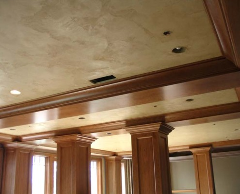 venetian plaster italian plasters Italian Plaster Ceiling Family Room Seattle Venetian plaster fine woodworking houzz faux finish Bellevue Issaquah