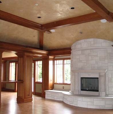venetian plaster italian plasters Italian Plaster Ceilings Great Room Seattle Marmarino plaster interior design faux finish Seattle Bellevue Samammish