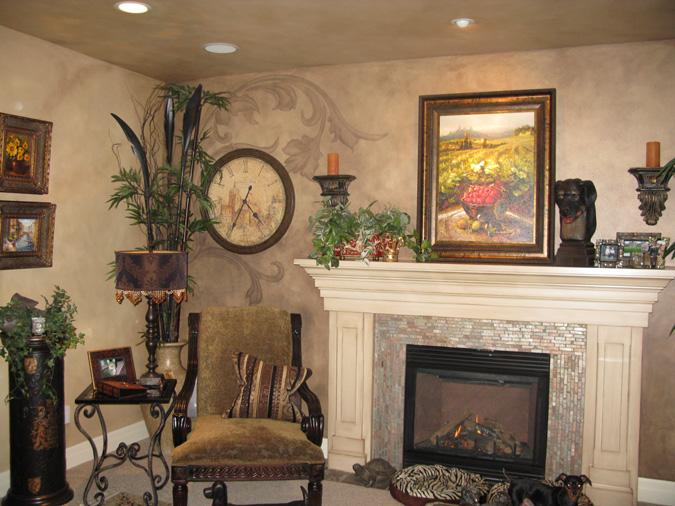 Living Room Ideas Kirklands acanthus scrolls - paradise studios luxury interiors