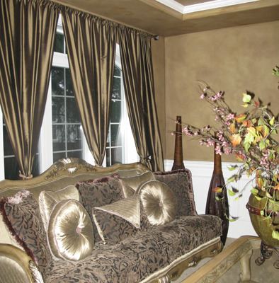 Architectural Faux Finish Formal Living Room Redmond Interior design ideas formal flower arrangements window treatments slick pillows houzz