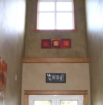 Architectural Faux Finish Entry Olympia home interiors tacoma house painters