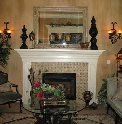 Living Room Ideas Kirklands architectural faux finishes