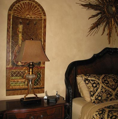 Architectural Faux Finish Master Bedroom Kirkland interior ideas Seattle bellevue gorgeous old world bed houzz