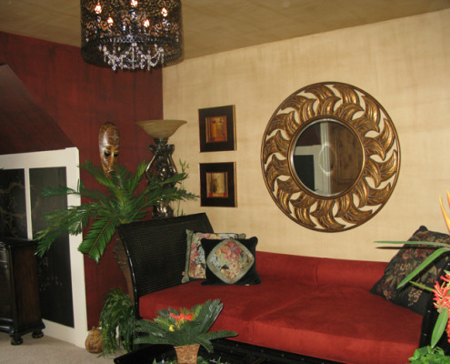 Architectural Faux Finish Linen Hawaii Room Kirkland interior design ideas decorative paint seattle bellevue tacoma house painters houzz