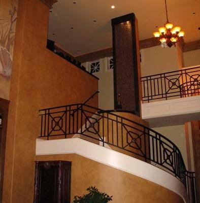Architectural Faux Finish Great Room Kirkland interior design ideas custom iron railing bellevue houzz