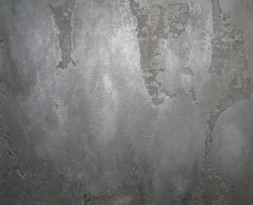 Modern Concrete Plasters Seattle Venetian Plaster Distressed Gray Plaster with Metallic Wash Bellevue seattle