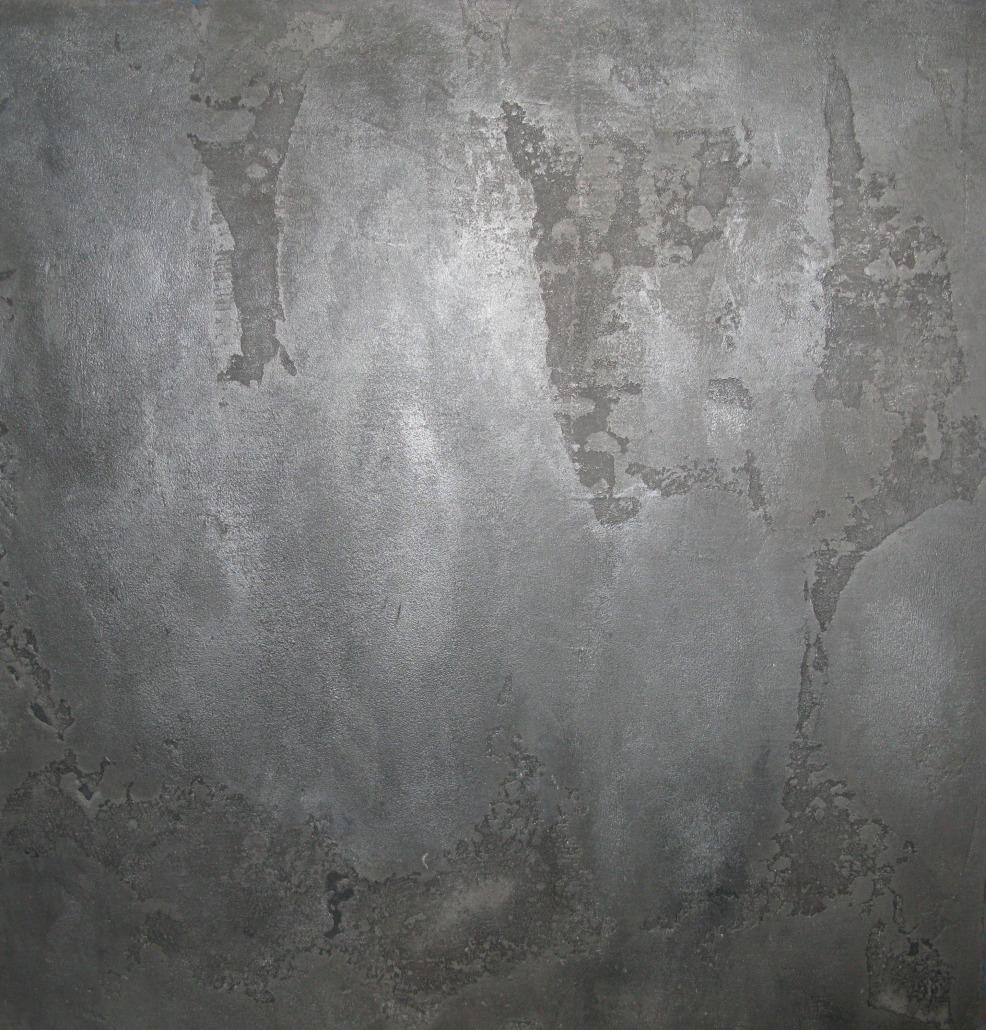 Modern Powder Room Accent Wall